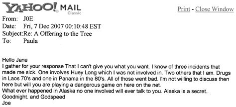 """Frozen Fiefdom - Emails To / From """"Leaves"""" GIMME An """"F"""