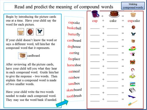 Reading2success: Read and Predict the Meaning of Compound
