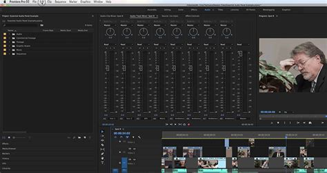 Editing Audio with the Essential Sound Panel in Adobe
