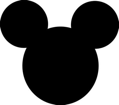 Mickey Mouse SVG EPS DxF Jpg Format Vector Digital Download