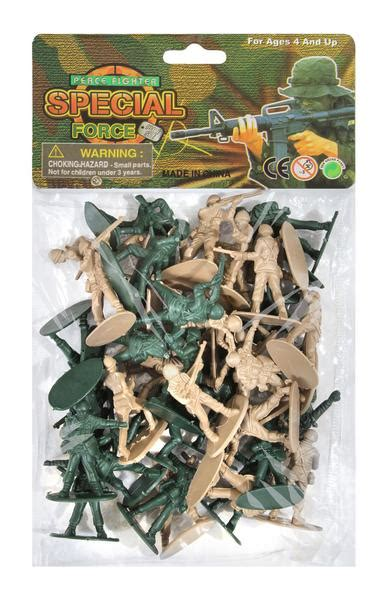 Army Men Toy Playset 40 Piece WWII - Toy Soldiers – Grunt