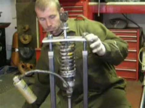 Shock spring compressor another home made tool - YouTube