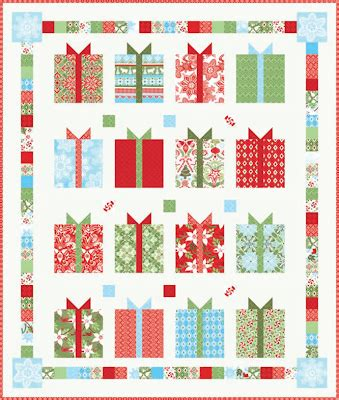 Quilt Inspiration: Free pattern day: Christmas part 2