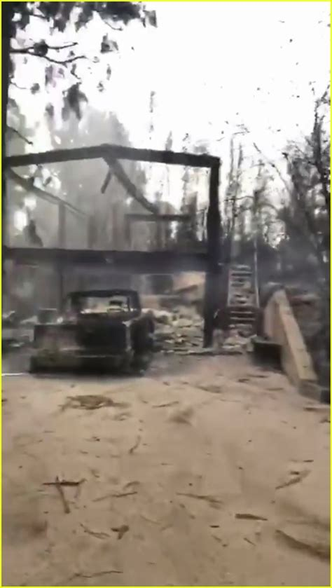 Gerard Butler's House Is Partially Destroyed From