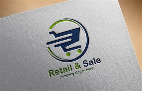 Online Shopping Logo Design Free psd Template – GraphicsFamily