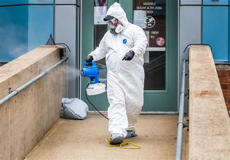 As demand spikes for disinfectant, cleaners take on COVID