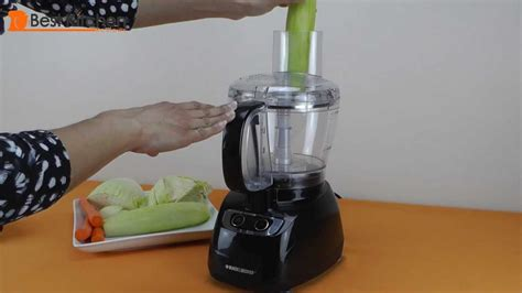 Black and Decker 8 Cup Food Processor Review - YouTube