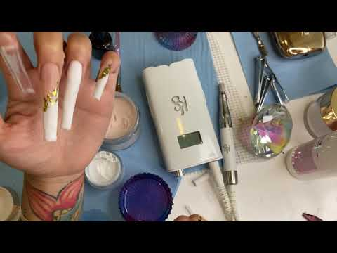 Gold French Manicure - Style Inked
