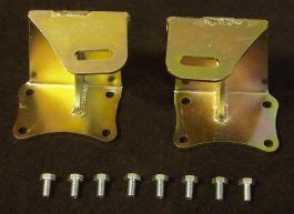Exx chassis to 1UZ Motor Mount Brackets - TE and AE