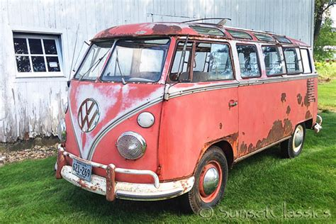 Find Cool Classic VW Bus Auctions at Vintage VW Cars