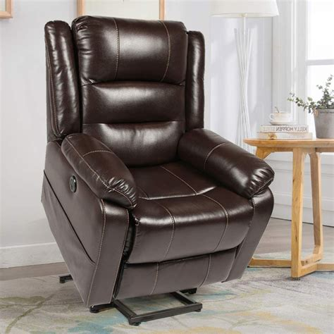 Power Lift Electric Recliner Chair with Heated Vibration