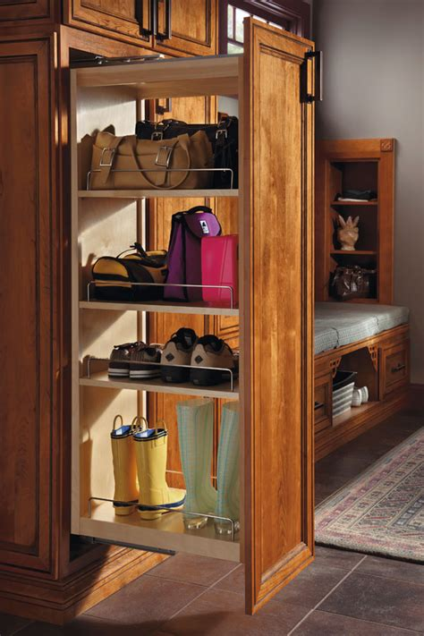 Tall Pantry Pullout Cabinet - Schrock Cabinetry