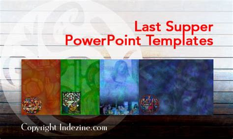 Last Supper Christian PowerPoint Templates