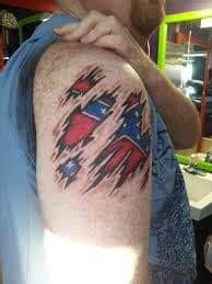 What Does Confederate Flag Tattoo Mean?   Represent Symbolism