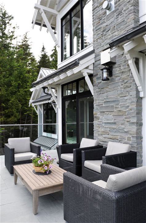 Bowen House 1 - Transitional - Patio - Vancouver - by Eyco