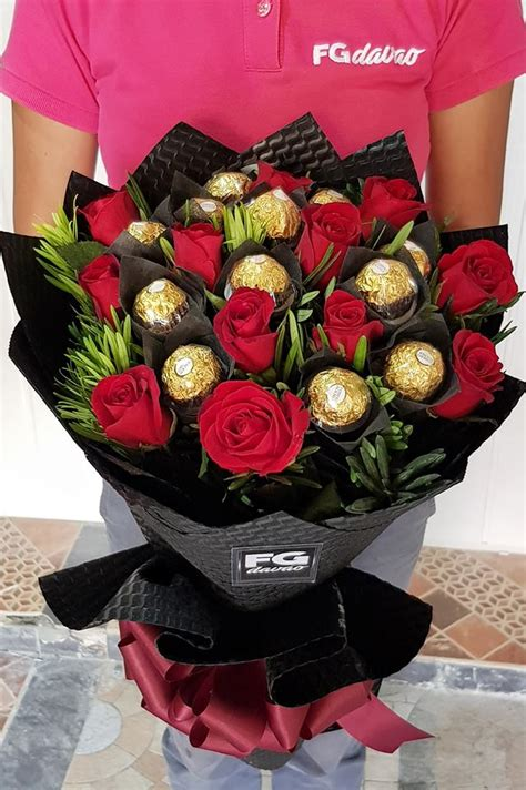Bouquet of Roses and Chocolates 8 – FG Davao – Flowers