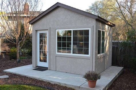 Tuff Shed   Down to Business With This Backyard Office