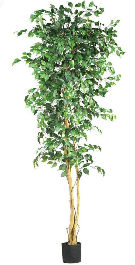 NEW LARGE 7' SILK FULL FICUS TREE Artificial Indoor High