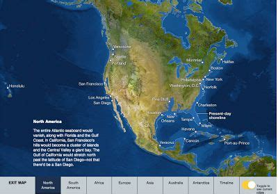 An Interactive Map of Rising Sea Levels - The October