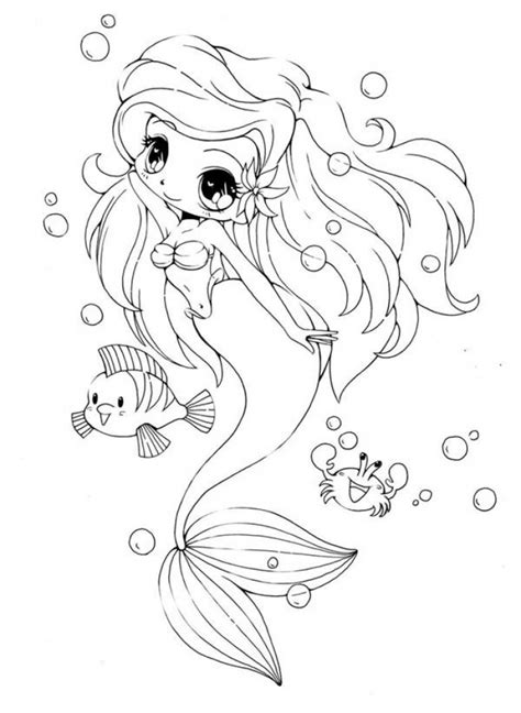 Get This Chibi Coloring Pages Free to Print NU02M