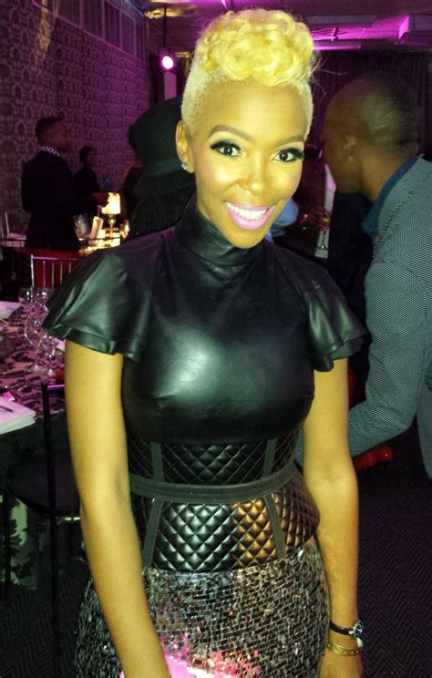 Kelly Khumalo makes first public appearance at Feather