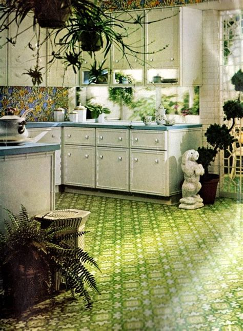 Get down with 70 groovy vintage vinyl floors from the '70s