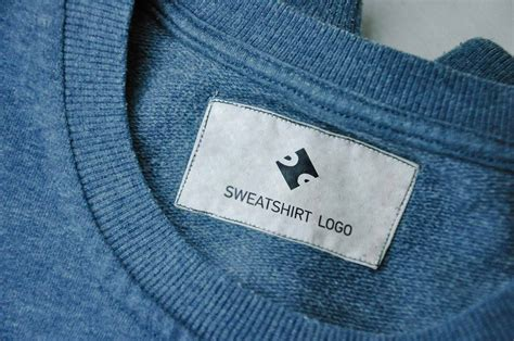 Free Clothing Sewing Jeans & Sweatshirt Label Tag PSD