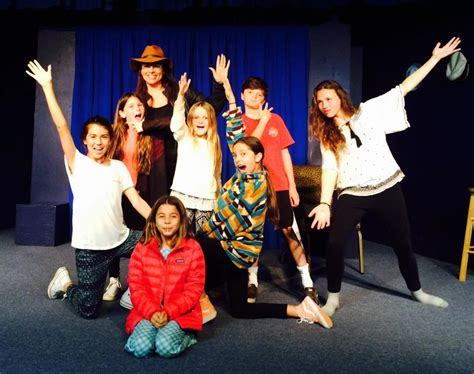 Kids acting class for ages 8-13 at The Ventura Improv