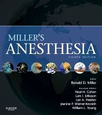 Miller's Anesthesia Elsevier eBook on VitalSource, 8th