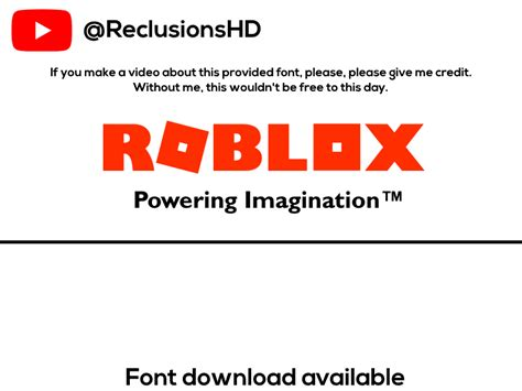 ROBLOX-Font-2017-ReclusionsHD by ReclusionsHD on DeviantArt