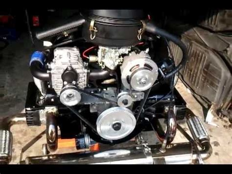 1600cc Type 1 VW Beetle Engine with Aisin AMR500 Blower