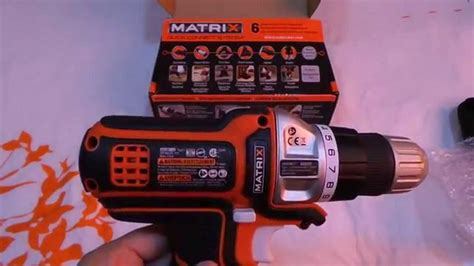 Black and Decker Matrix Quick Connect Unboxing - YouTube