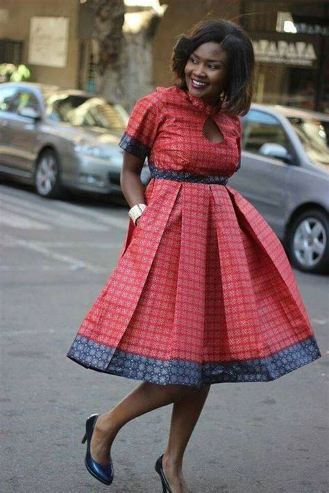 TRENDY SHWESHWE TRADITIONAL DRESSES FOR WOMAN 2019