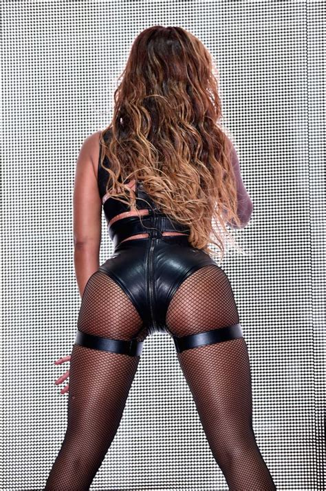 Beyonce channels Fifty Shades of Grey bondage look in