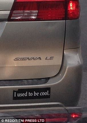 Reddit users share hilarious bumper stickers they've seen