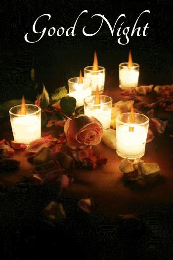 Good Night Candle Gif Pictures, Photos, and Images for