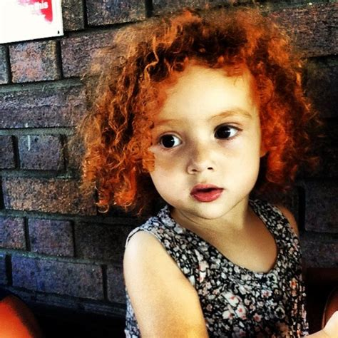 #beauty #baby #girl #ginger #curls   All things bright and