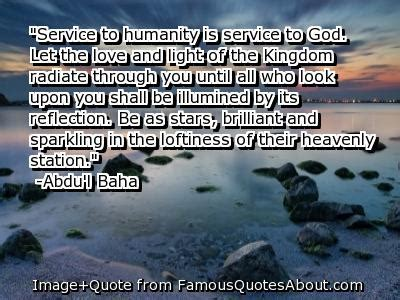 Quotes about Service to humanity (55 quotes)