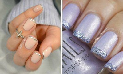 51 Cool French Tip Nail Designs   Page 3 of 5   StayGlam