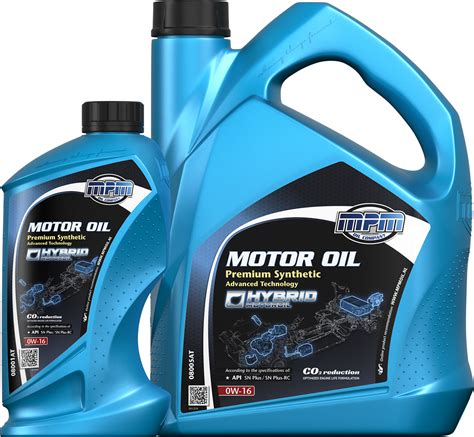 NEW! MPM 08000AT Motor Oil 0W-16 Premium Synthetic