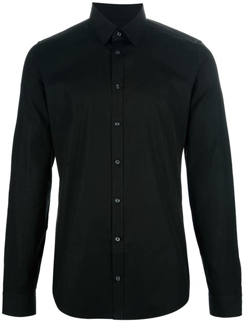 Lyst - Gucci Button Down Shirt in Black for Men