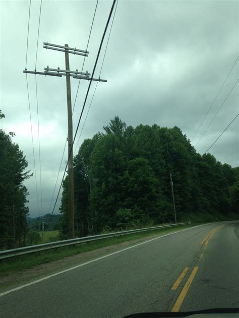 New Power Poles Being Installed In Western Part Of The