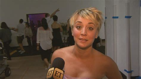 Kaley Cuoco Recycles Real-Life Wedding Dress for Music
