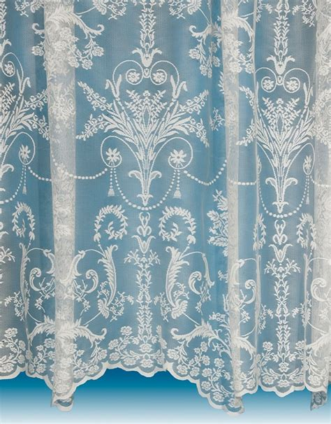 Victoria Lace Curtain in Ivory / Cream