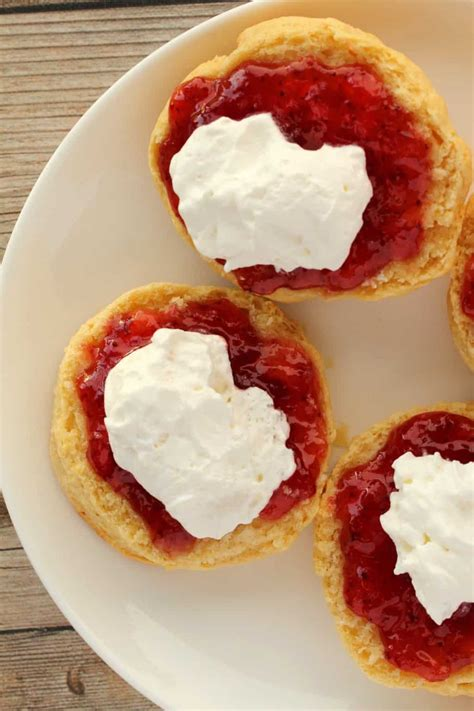 Must-Try Vegan Scones with Jam and Whipped Cream - Loving